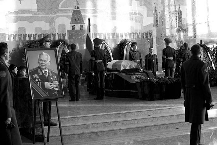 MIKHAIL KAKASHNIKOV FUNERALI